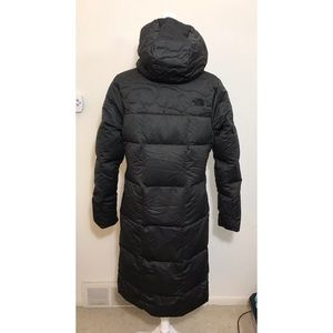 3304d51bb The North Face Women's Rhea Down Parka Coat Black NWT
